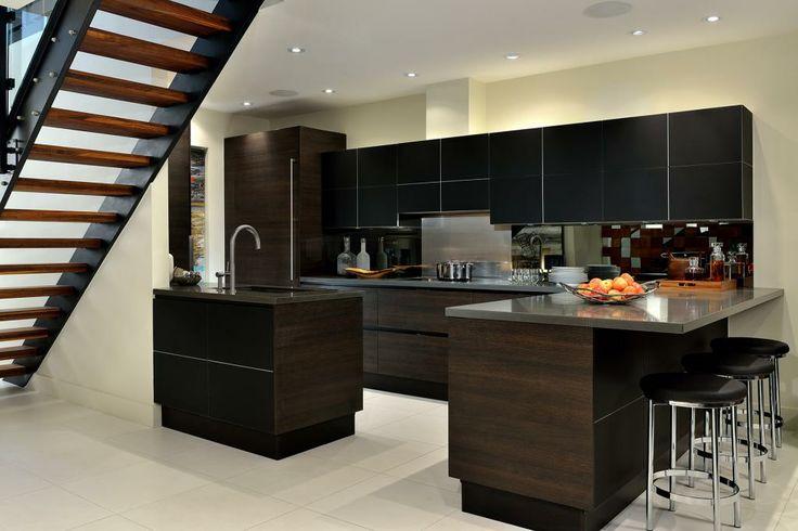 Kitchen space designed by Glen & Jamie from Peloso Alexander Interiors. #kitchen #dining #design #GlenandJamie