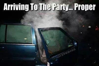 Arriving to the party...