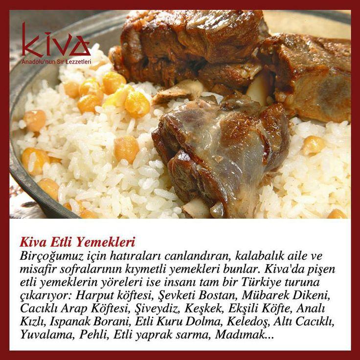 Kiva'nın Etli Yemekleri sizi Anadolu'nun en ücra lezzetlerine götürecek!  Bu keyifli yolculuğa katılmak ister misiniz?  #kivaankara #ankara #turkishrestaurant #turkishcuisine #cuisine #restoran