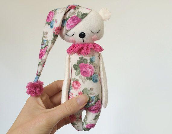 Teddy Bear In pyjama Gevilte dieren Teddy Bear door AmuruToys