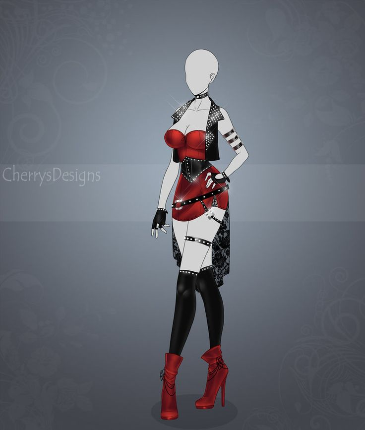 (closed) Auction Adopt - Outfit 424 by CherrysDesigns.deviantart.com on @DeviantArt