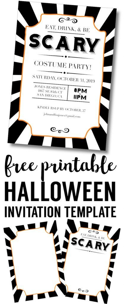The  Best Diy Halloween Invitations Ideas On   Zu Diy