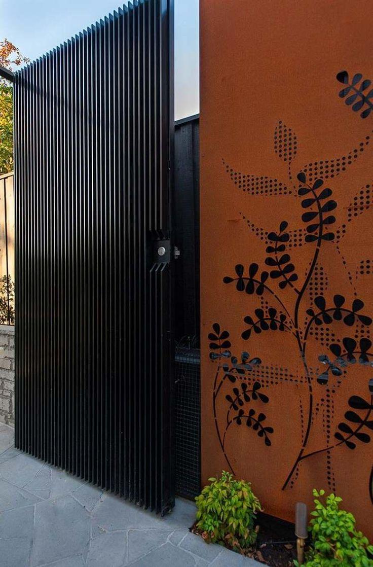 Brise Vue Jardin Et D Co En Acier Corten 30 Id Es Splendides D Co Et Design