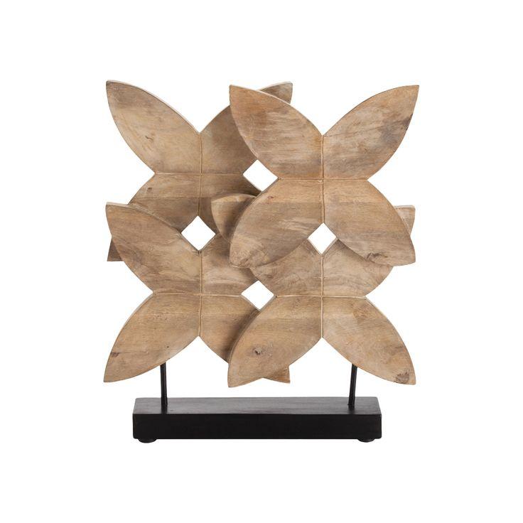 Ella Carved Wood Sculpture