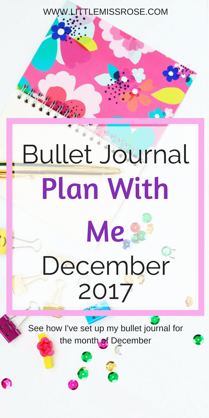 This post shares with you how I set up my bullet journal for the month of December. There is plenty of Christmas inspiration in there. www.littlemissrose.com
