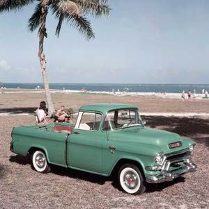 Pictures of Vintage GMC Pickup Trucks: 1956 GMC Pickup Truck