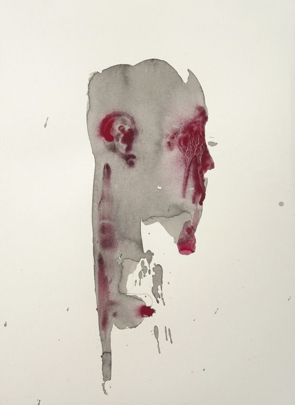 Morphè I - Inks and pigments on paper - 32x24 cm - 2011 - Alessio Pierro