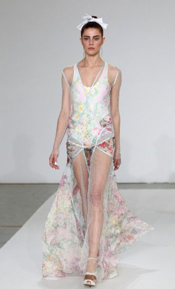 Zimmermann's SS 2012 collection shown at MBFWA.