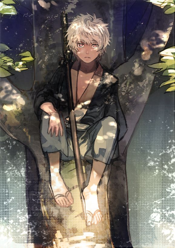 Gintama - Young child Gintoki