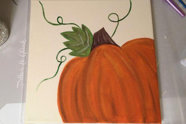 25+ best ideas about Pumpkin canvas painting on Pinterest ...