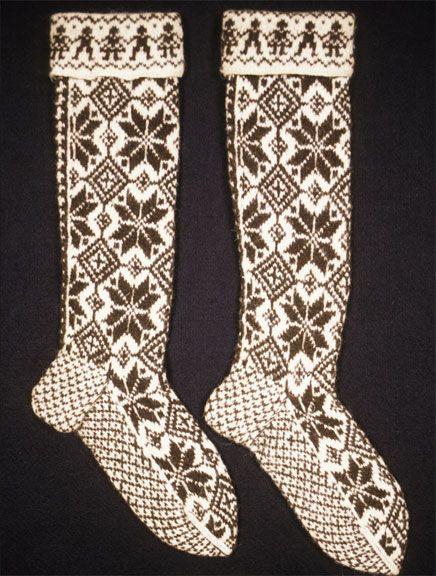Norwegian Selbu socks.
