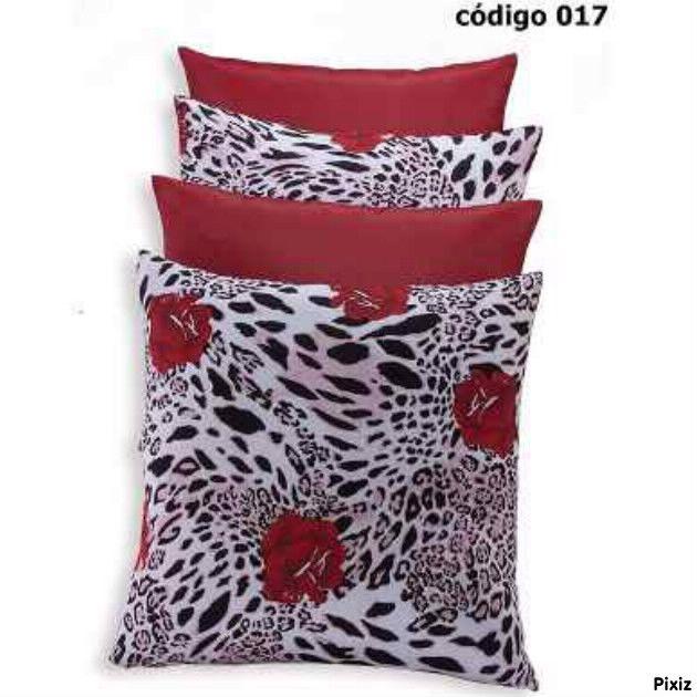http://www.kitalmofadasdecorativasofa.com.br/almofadas-cheias/kit-4-almofadas/almofadas-vermelhas-oncinha/ Kit 4 Almofadas Vermelhas Jogo Completo Para Sofá