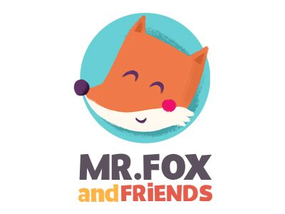 Mr.Fox and friends logo by edit sliacka (Prague, Czech republic)