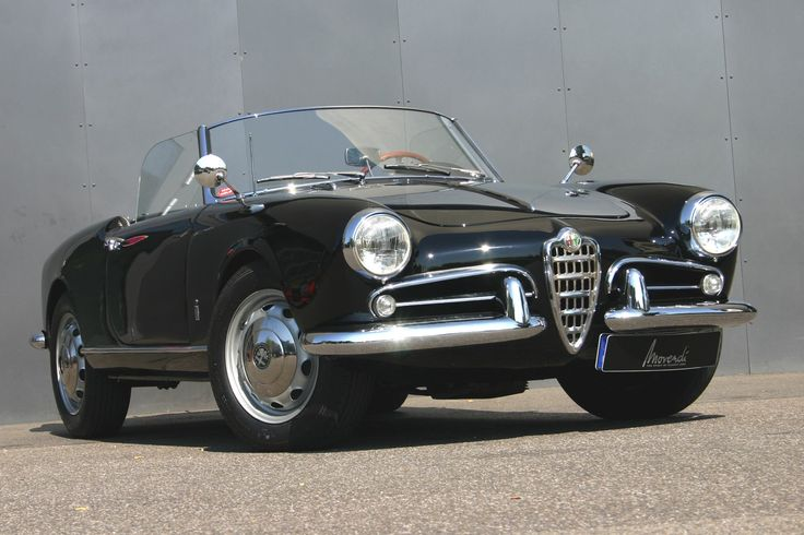 1955 Alfa Romeo Giulietta  Maintenance/restoration of old/vintage vehicles: the material for new cogs/casters/gears/pads could be cast polyamide which I (Cast polyamide) can produce. My contact: tatjana.alic@windowslive.com