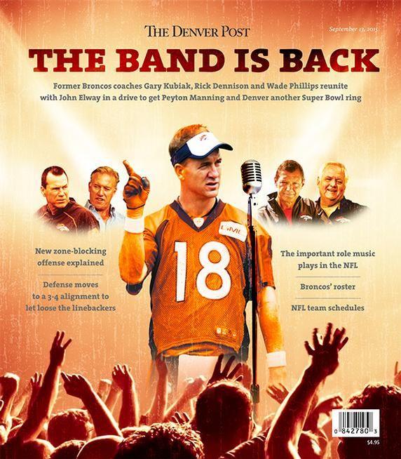 Denver Post Broncos Magazine