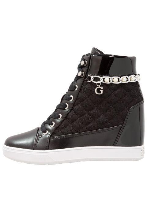 Pedir  Guess FORTY - Zapatillas altas - black por 119,95 € (6/03/18) en Zalando.es, con gastos de envío gratuitos.