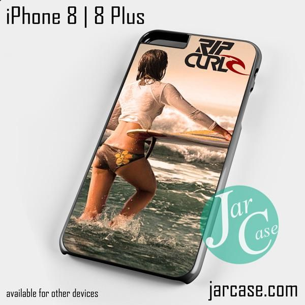 Rip Curl Surfing Girl Phone case for iPhone 8 | 8 Plus