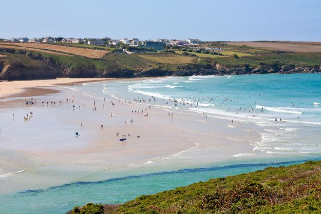 Crantock Beach   Community Post: 10 Beaches You Wouldn't Believe Are In Cornwall, England