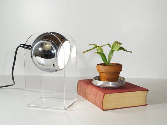 Reserviert Arteluce Model 540 Touch Lampe 60er Jahre Etsy Ball Lamps Touch Lamp Lamp