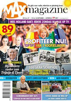 Proefabonnement: 12x Max Magazine € 10,-: Neem Max Magazine, het…