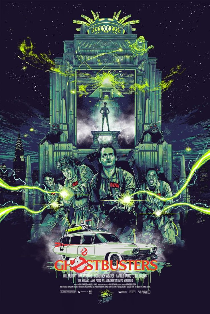 Ghostbusters movie fan poster art find