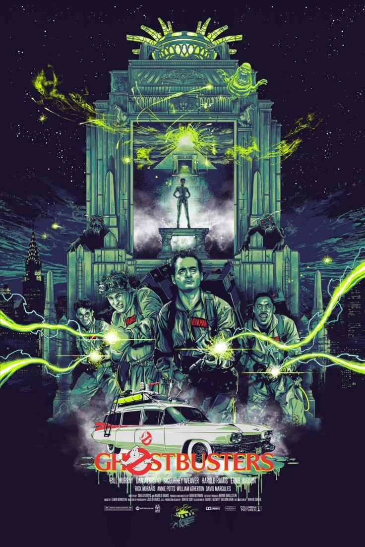 Ghostbusters movie fan poster art find