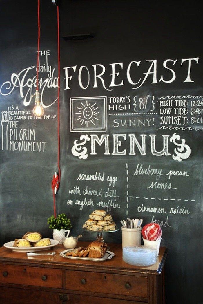 66 Best Kitchen Grafitti Images On Pinterest  Home Ideas Gorgeous Kitchen Blackboard Review