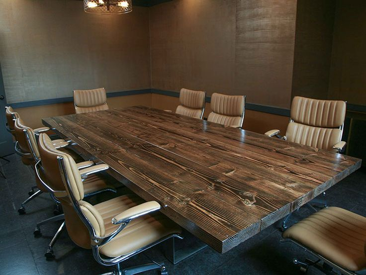 Signature Turkish Steel Conference Tables from Emmor Works