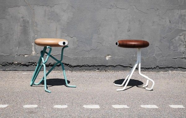 The recently-founded Danish design brand launched it's debut design, named Companion, which offers you an extra seat, a small table, or a funny piece of art.