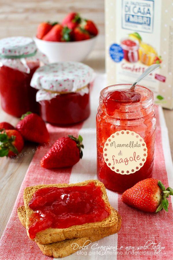 Marmellata di fragole veloce fatta in casa, aromatizzata al limone