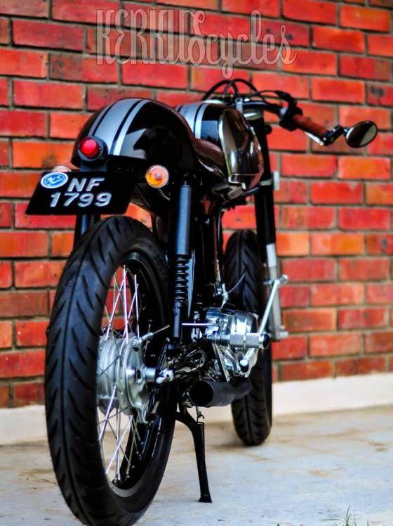 Honda s90 cafe racer by KerkusCycles