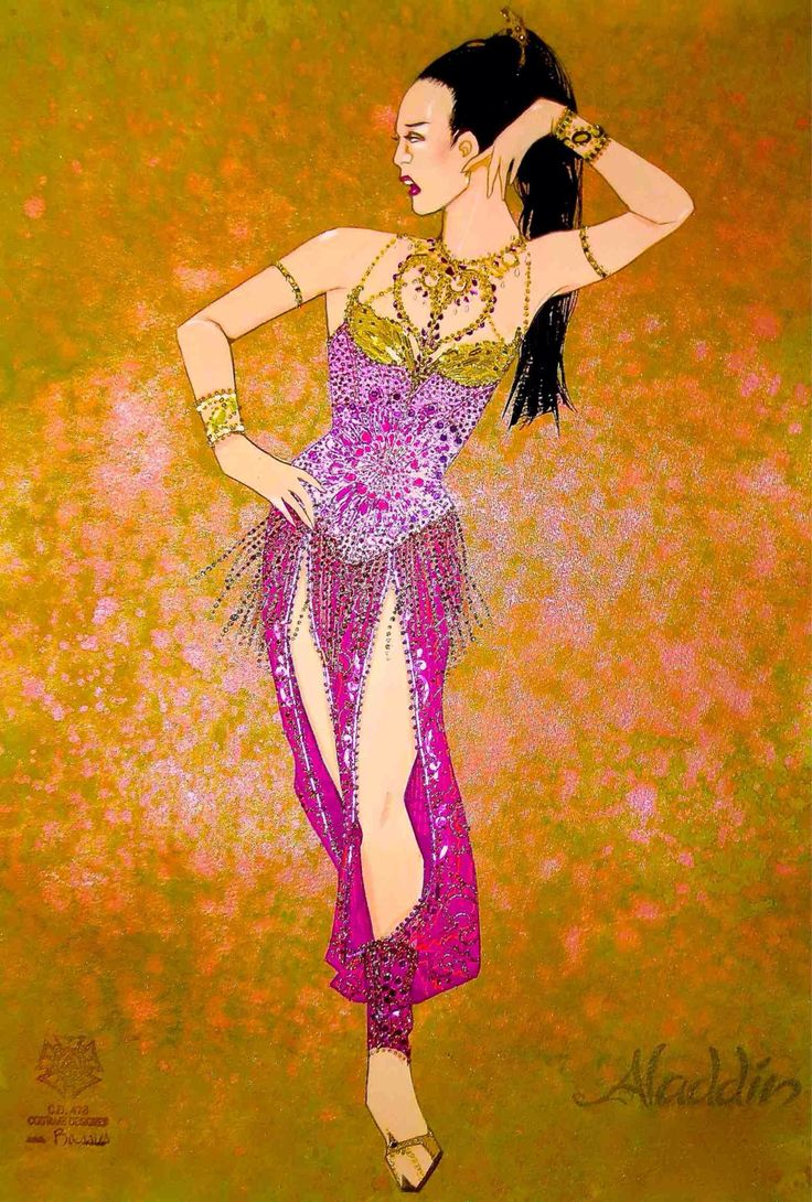 I love how the gold is only carried up at the top of the costume. Harem Girls (Aladdin) - DisneyWiki