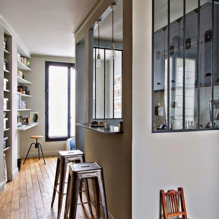 Студенческая квартира площадью 25 кв. метров в Париже
