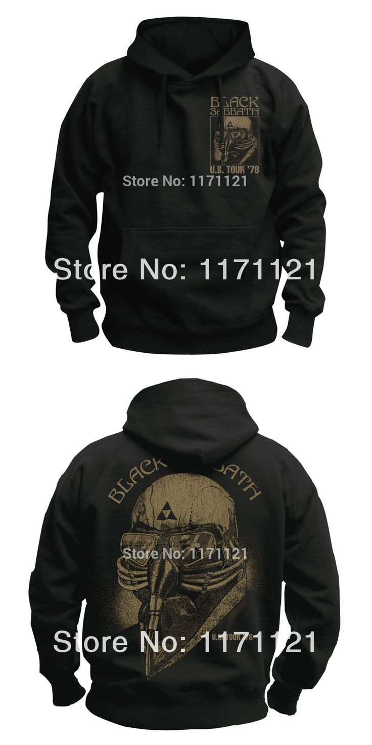 BLACK SABBATH PARANOID'70 OZZY OSBOURNE S-XXL HOODIE NEW  HOODIE