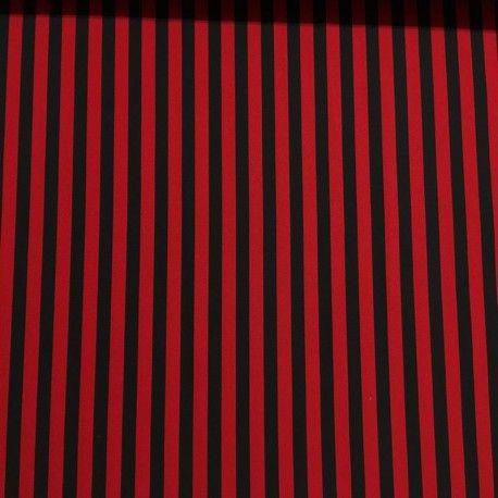 Maxirayas Rojas y Negras (Strech Estampado)