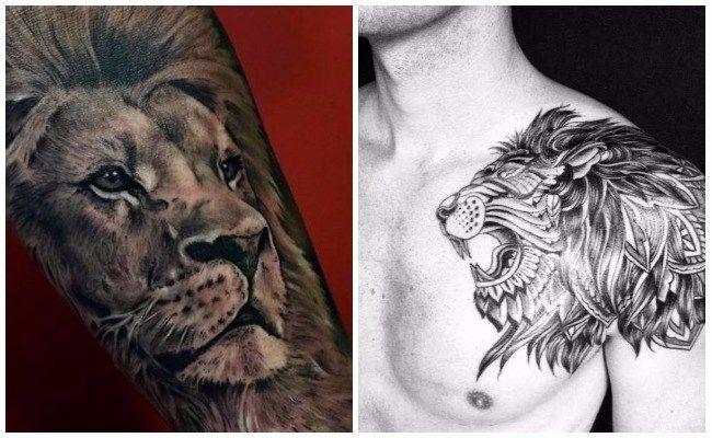 22 Los mejores tatuajes de leones