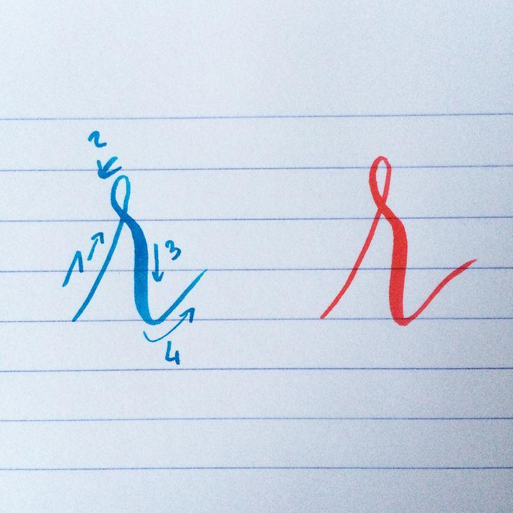 Ma minuscule préférée : le majestueux R ! #backtobasics_abc