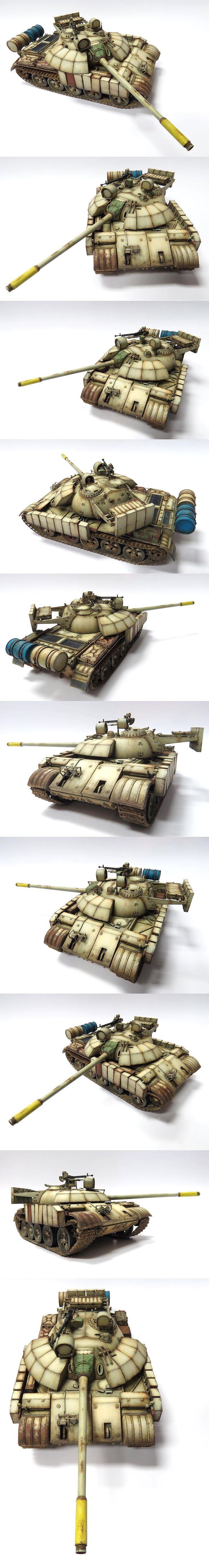 T55 Enigma Model by ***NEOFAUX*** M STUDIO Artist since 2009 Model kit: TAMIYA Scale: 1/35