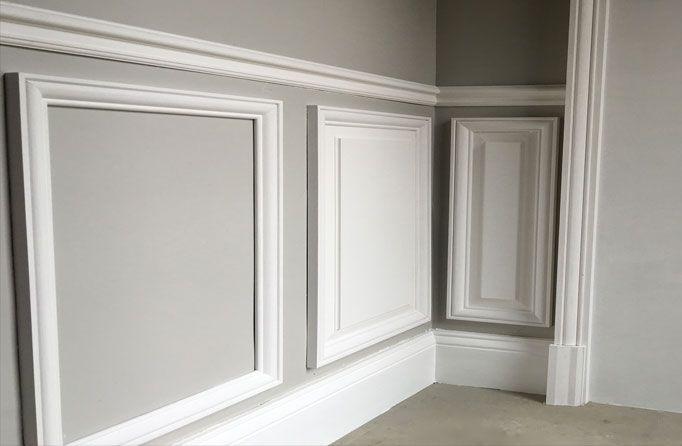Kit soubassement en bois pour l 39 habillage et la d coration Decoration pour les murs
