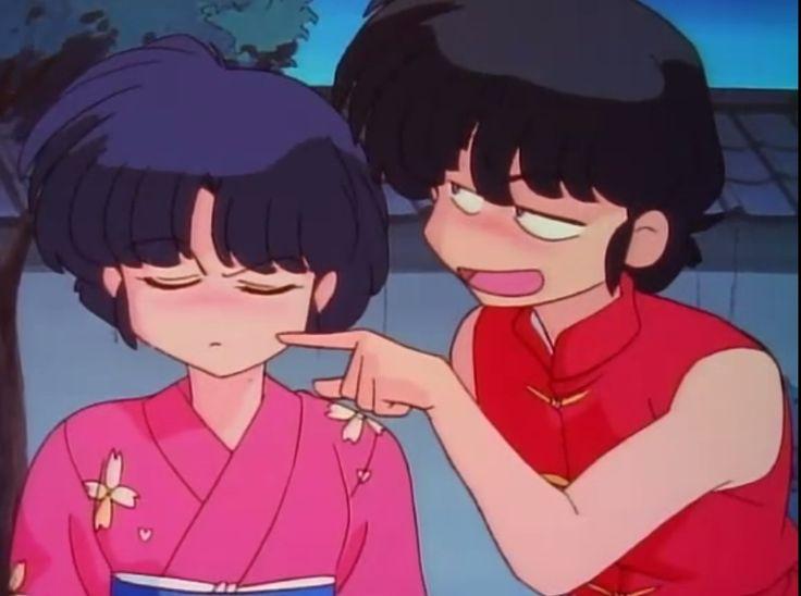 los palomitos peliones favoritos por siempre!!!  Ranma molestando a Akane