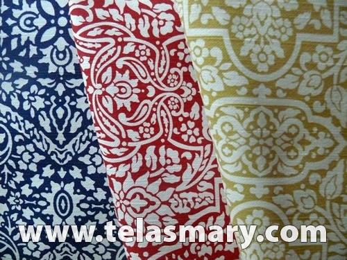 Panama estampado telas para tapiceria telas para for Telas para sillones