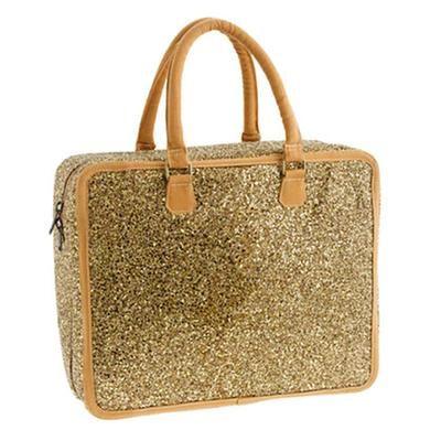 Gift Idea: Girls' glitter overnight luggage
