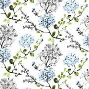 Vallila Melissa Blue Wallpaper 11.2m