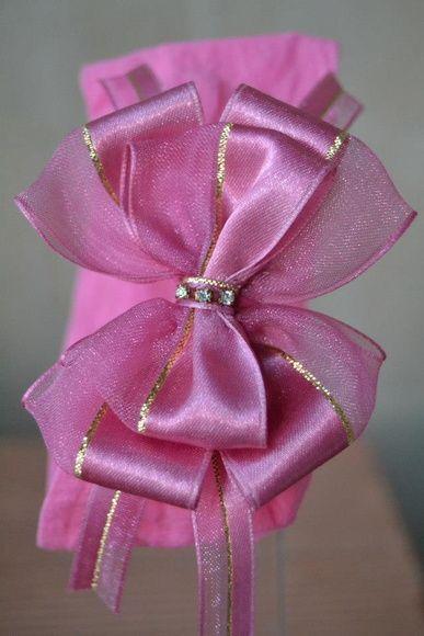Faixa com laço de fita duplo  Cores disponíveis: Branco, rosa, lilás, laranja e preto.  Pode ser feita em meia de seda ou faixa de elástico.  Tamanho RN a crianças maiores (Sob medida) R$ 15,00
