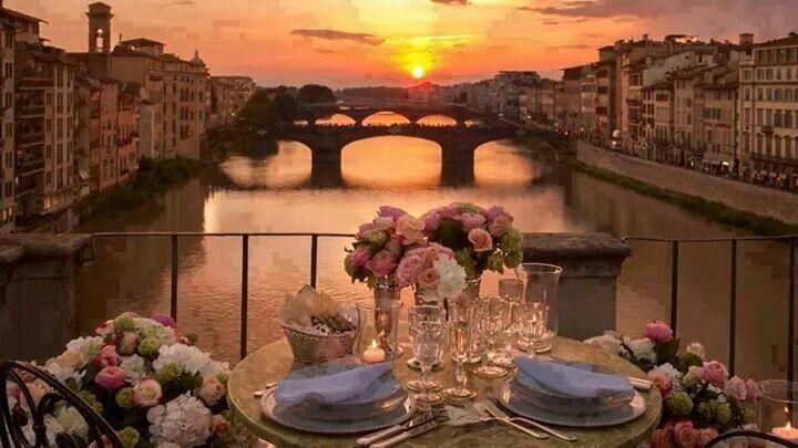 Buona sera from Florence