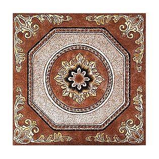 Spanish-inspired Vinyl Floor Tile, $10.99 for a 12x12 piece; Sears