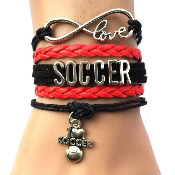 Infinity Love Soccer Bracelet