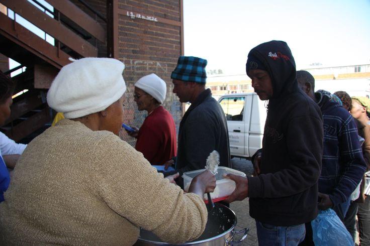 Receiving a plate of food http://www.tekkietax.co.za/