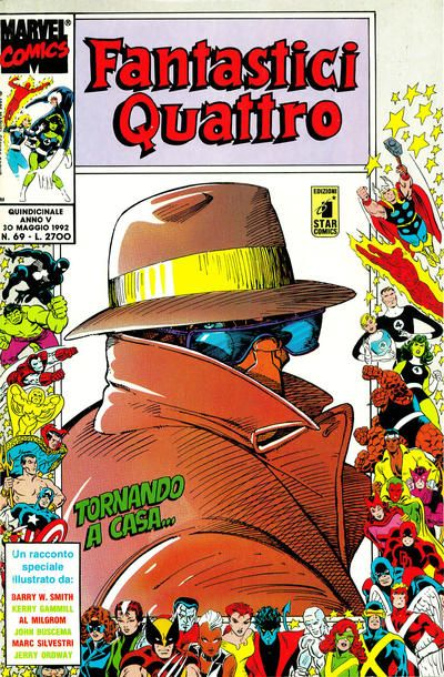 Cover for Fantastici Quattro (Edizioni Star Comics, 1988 series) #69
