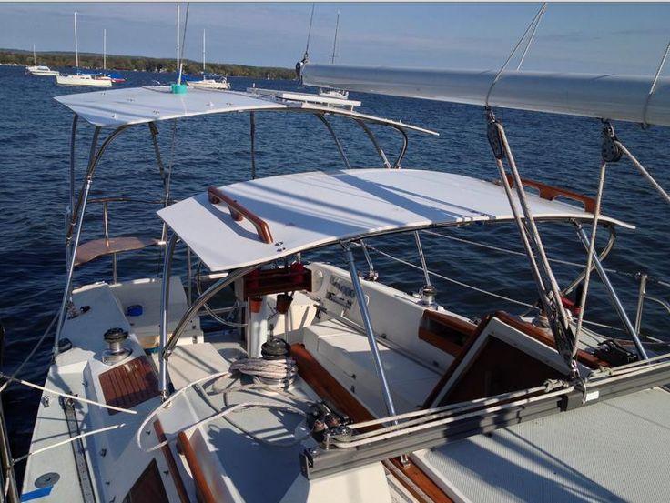 Komacel Material Hard Bimini Diy Inspiration Boat